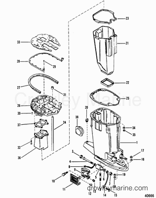 1972 40 Hp Mercury Outboard Wiring Diagram