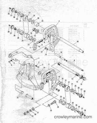 Mercury Quicksilver Controls Parts Diagram Shifting