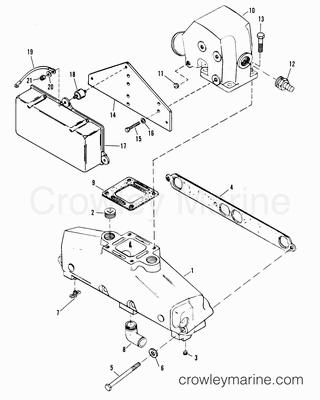 1988 Mercruiser Race Sterndrive 320EFI [ALPHA] [4320100AH