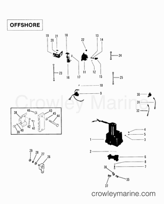 Quicksilver Throttle Control Diagram, Quicksilver, Free