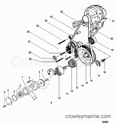 Serial Range Mercruiser TDI 4.2L 335 MCM [CMC000200 & Up