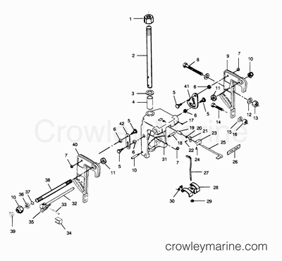 50 Hp Mercury Outboard Throttle Cable Diagram OMC Throttle