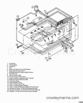 Mercruiser Electric Fuel Pump Wiring Diagram Heat Pump