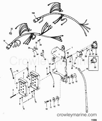 1994 150 Mariner Wiring Harness. 1994. Wiring Diagram