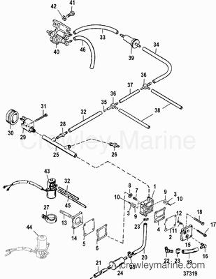Mercury 50 Elpto Carburetor Parts Diagram. Mercury. Auto