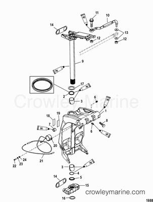 Mercury Optimax Water Pump, Mercury, Free Engine Image For