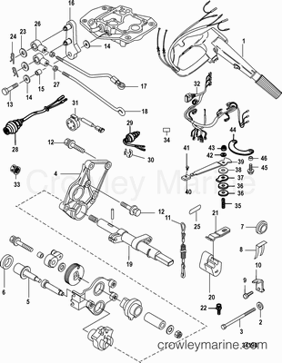 Various Years Rigging Parts Steering Systems and