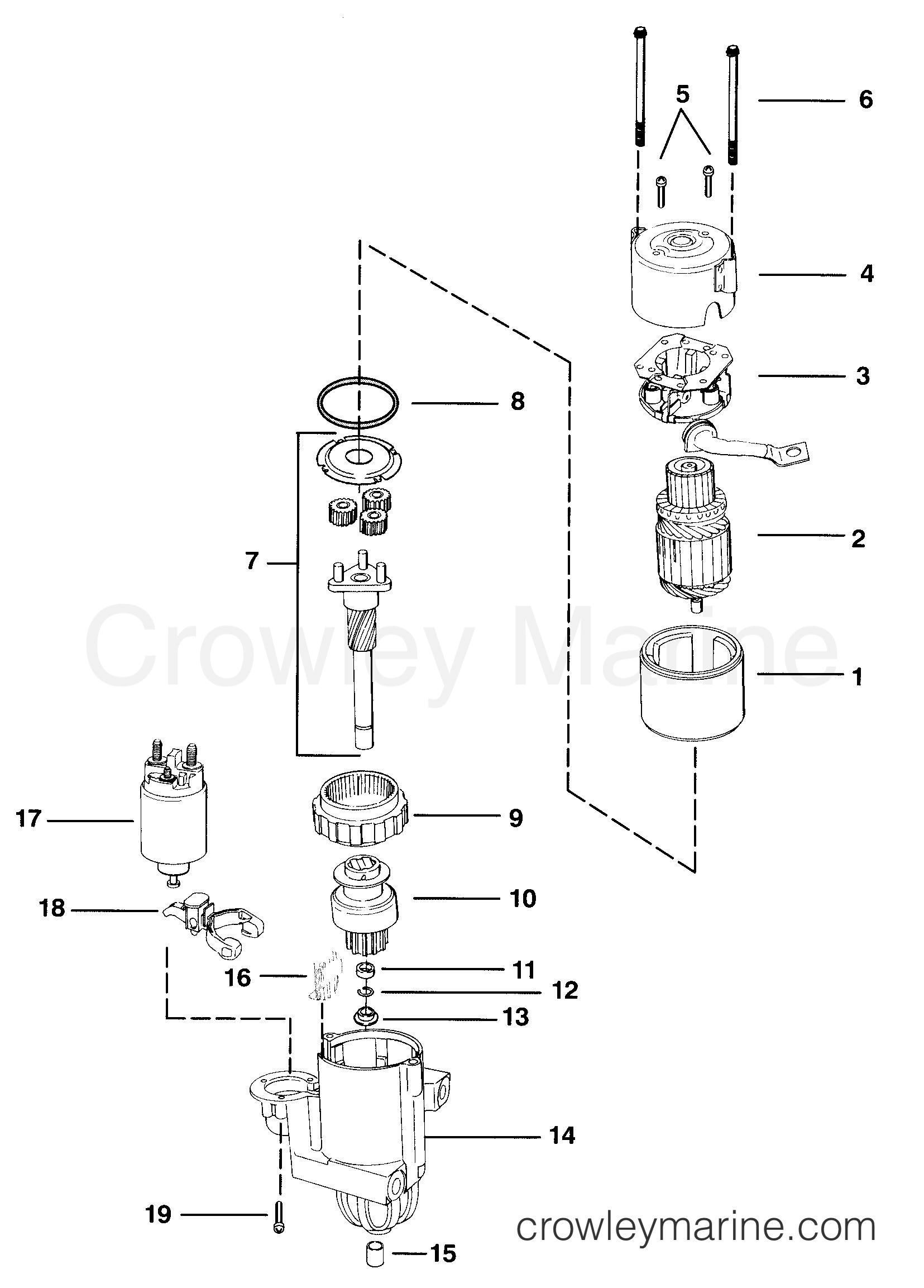Starter Motor Pg260