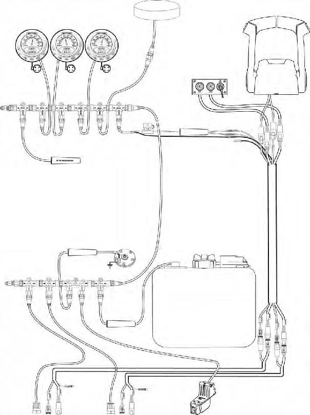 0764309 Rigging Kit, I-Command™ Single Engine 764309