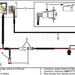 Ignition Switch Deutsch Basic Auto Electrical Wiring Diagram Kits Crowley Marine Master Power Key With Dual Engine Start Stop Switches