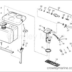Evinrude 115 Ficht Wiring Diagram Home Telephone Uk Remote Oil Tank Kit Crowley Marine 1 8 Gallon
