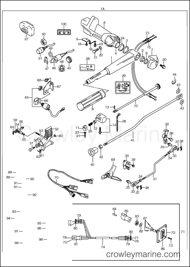 Mercury 25 Hp Reverse Linkage Parts Diagram. Mercury