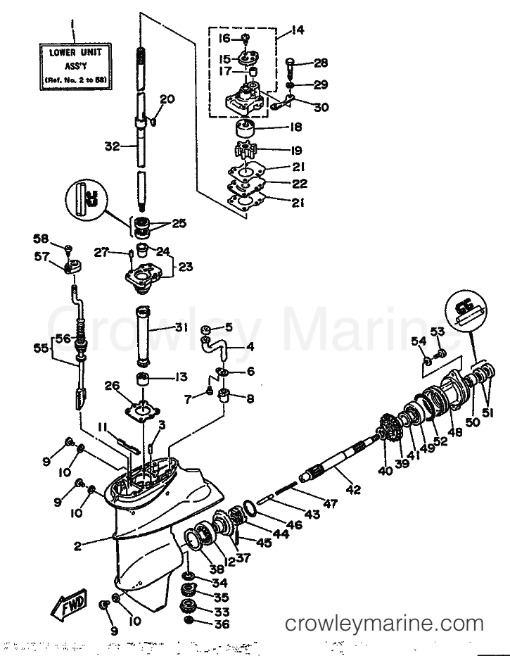 1990 mercury 150 wiring diagram