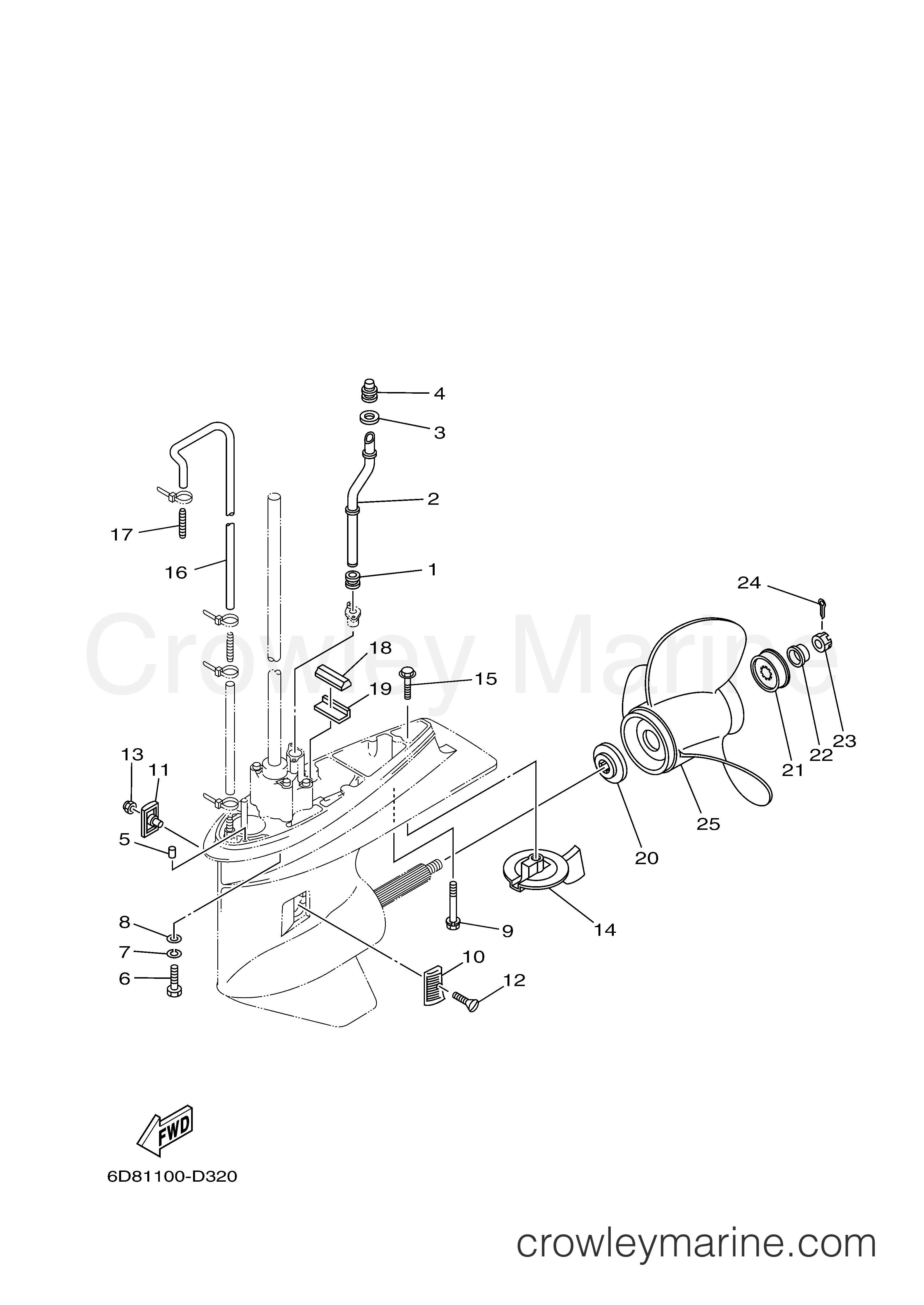 Lower Casing Drive 2