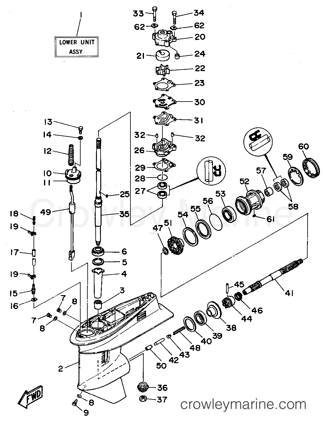 Lower Casing Drive 1