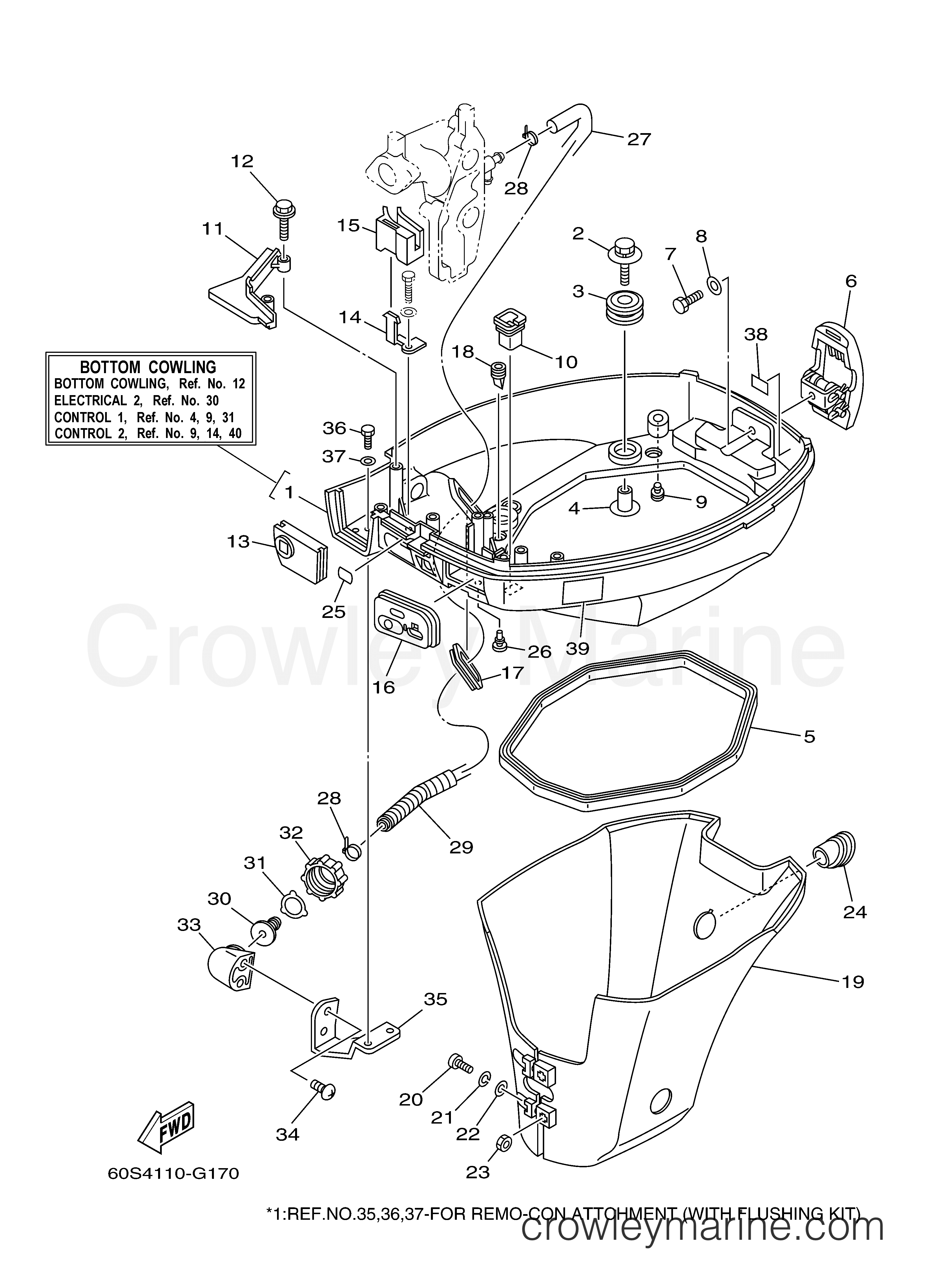 Suzuki Outboard Cowling Replacement