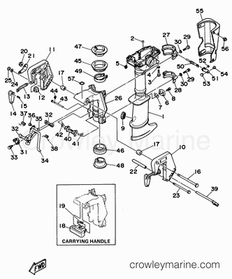 Evinrude Lower Unit Diagram Honda Lower Unit Diagram