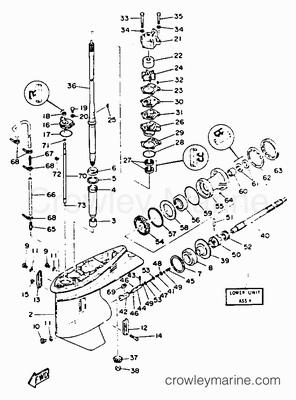 15 Hp Evinrude Fuel Pump Parts 15 HP Evinrude Clutch Dog
