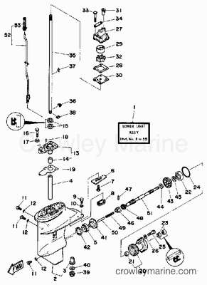 Yamaha 175 Outboard Wiring Schematic Yamaha Outboard