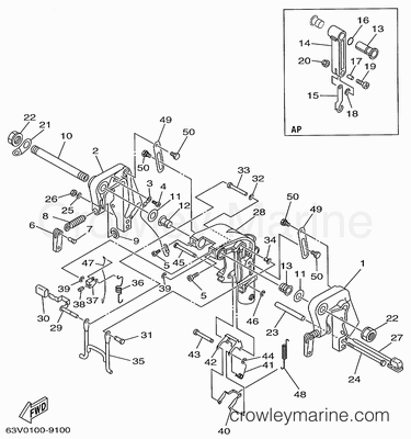 1972 Johnson Outboard Wiring Diagram 50 Hp