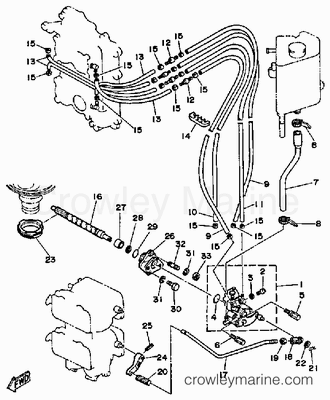 4 Hp Johnson Outboard Diagram Johnson 4 HP Parts Wiring