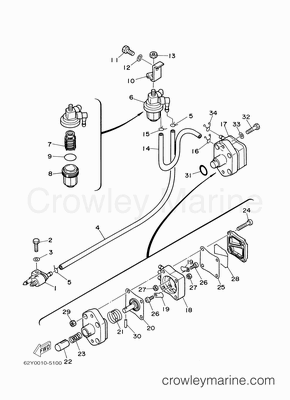 90 Hp Yamaha Outboard Trim Wiring Diagram Mercury Outboard