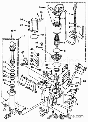70 Hp Evinrude Wiring Diagram Johnson 70 HP Wiring Diagram