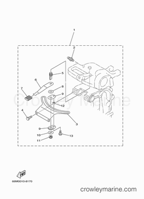 27t Engine Diagram 2004 Yamaha Outboard 15hp F15mshc Parts Lookup