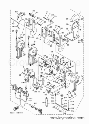 Mercury Outboard Tach Wiring Diagram 50 HP Mercury