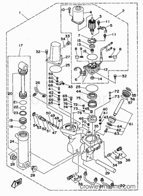 15 Hp Johnson Outboard Diagram, 15, Free Engine Image For