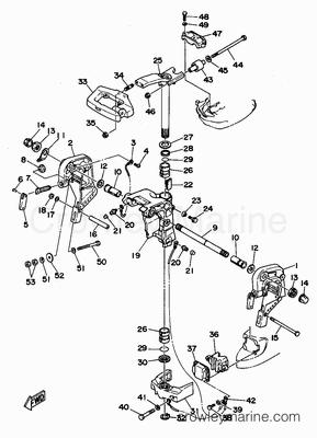 Evinrude 40 Hp Outboard Diagrams Boat Motor Repair