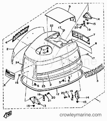 Mercruiser Throttle Control Diagram, Mercruiser, Free