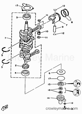 Diagram Tilt And Trim 40 Hp Yamaha Outboard 50 HP Mercury