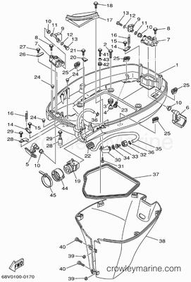 Yamaha F115 Engine Diagram Yamaha Outboard Wiring