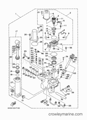 Johnson Tilt Trim Diagram Johnson Water Pump Diagram