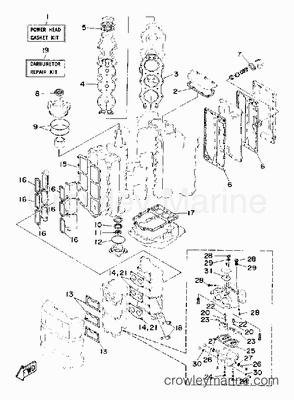 55 Hp Johnson Diagram, 55, Free Engine Image For User