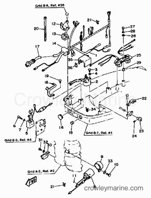 Yamaha Outboard Tilt And Trim Gauge Wiring Diagram Yamaha
