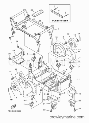 Yamaha Outboard Motor Control Box Mercury Outboard Control