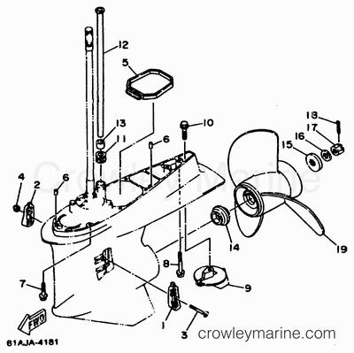 Yamaha 150 Outboard Wiring Diagram Yamaha 2 Stroke