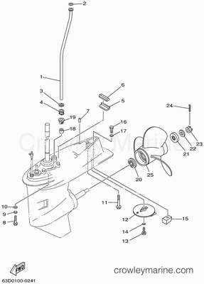 50 Hp Mercury Outboard Diagram Mercury Outboard Water Pump