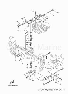 Evinrude Lower Unit Diagram Honda Lower Unit Diagram