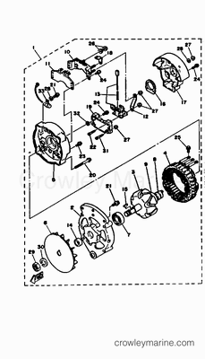 Wiring Diagram Marineengine Parts Johnson Evinrude Johnson