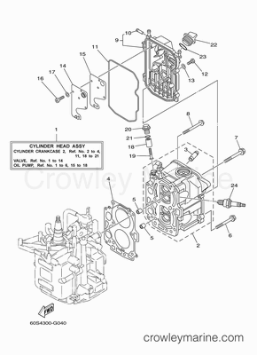 Yamaha 8hp 2 stroke repair manual