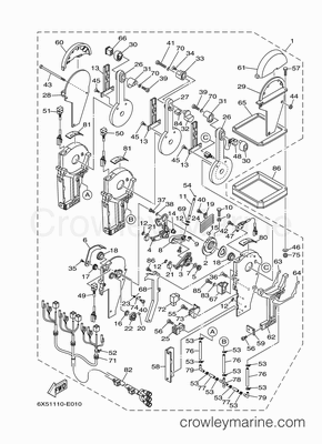 Yamaha T50 Parts Diagram, Yamaha, Free Engine Image For