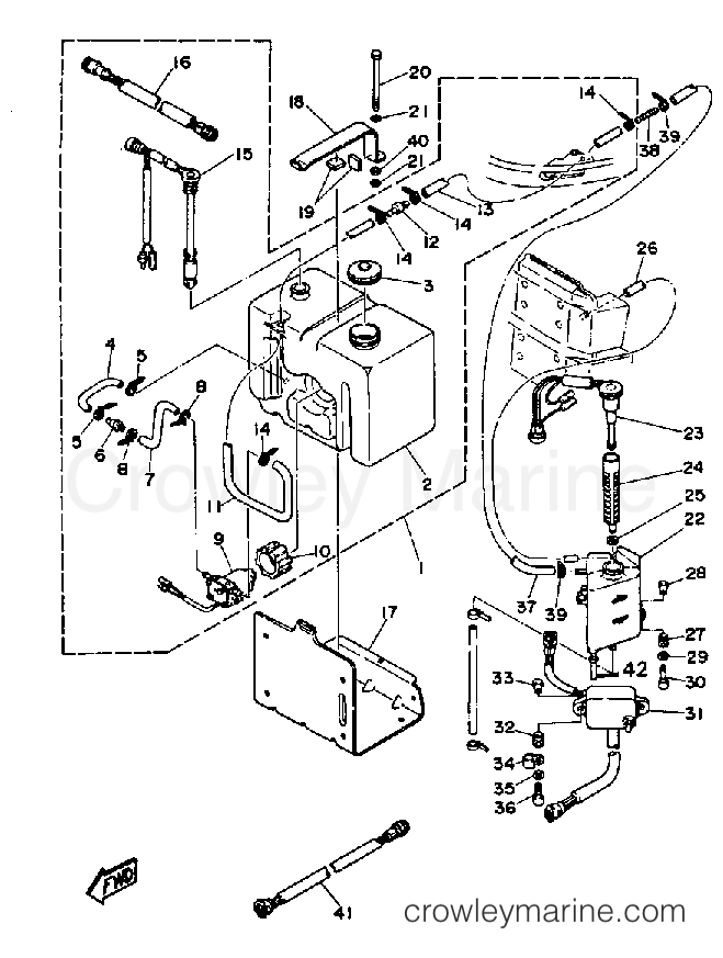 1989 Yamaha V6 Excel Lf
