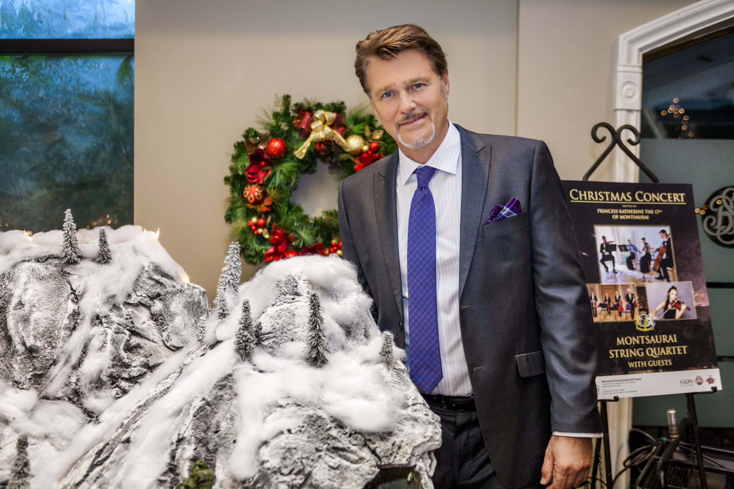 Greg Evigan as George in Once Upon a Holiday  Hallmark