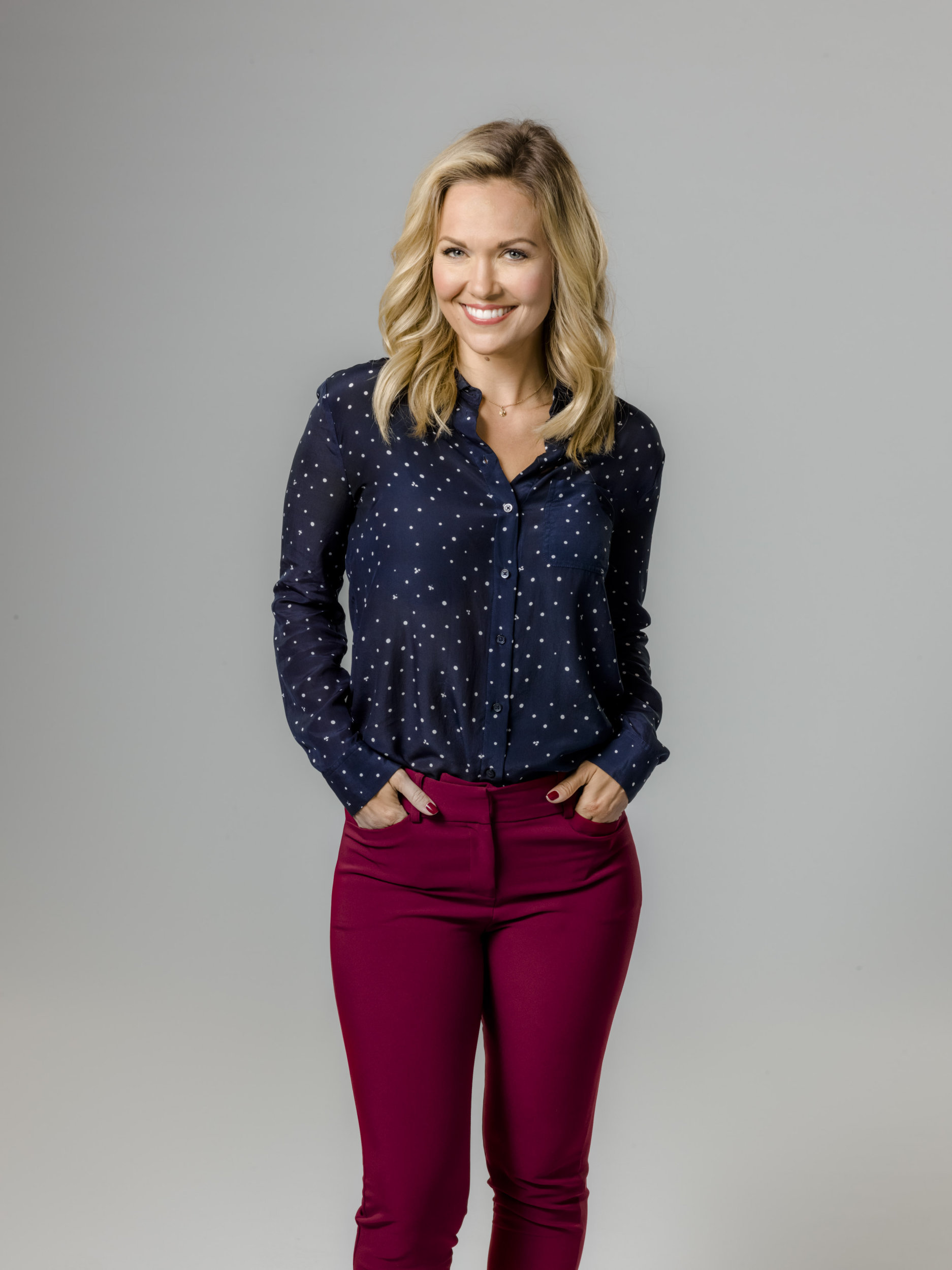 Emilie Ullerup as Melanie Welch on With Love Christmas