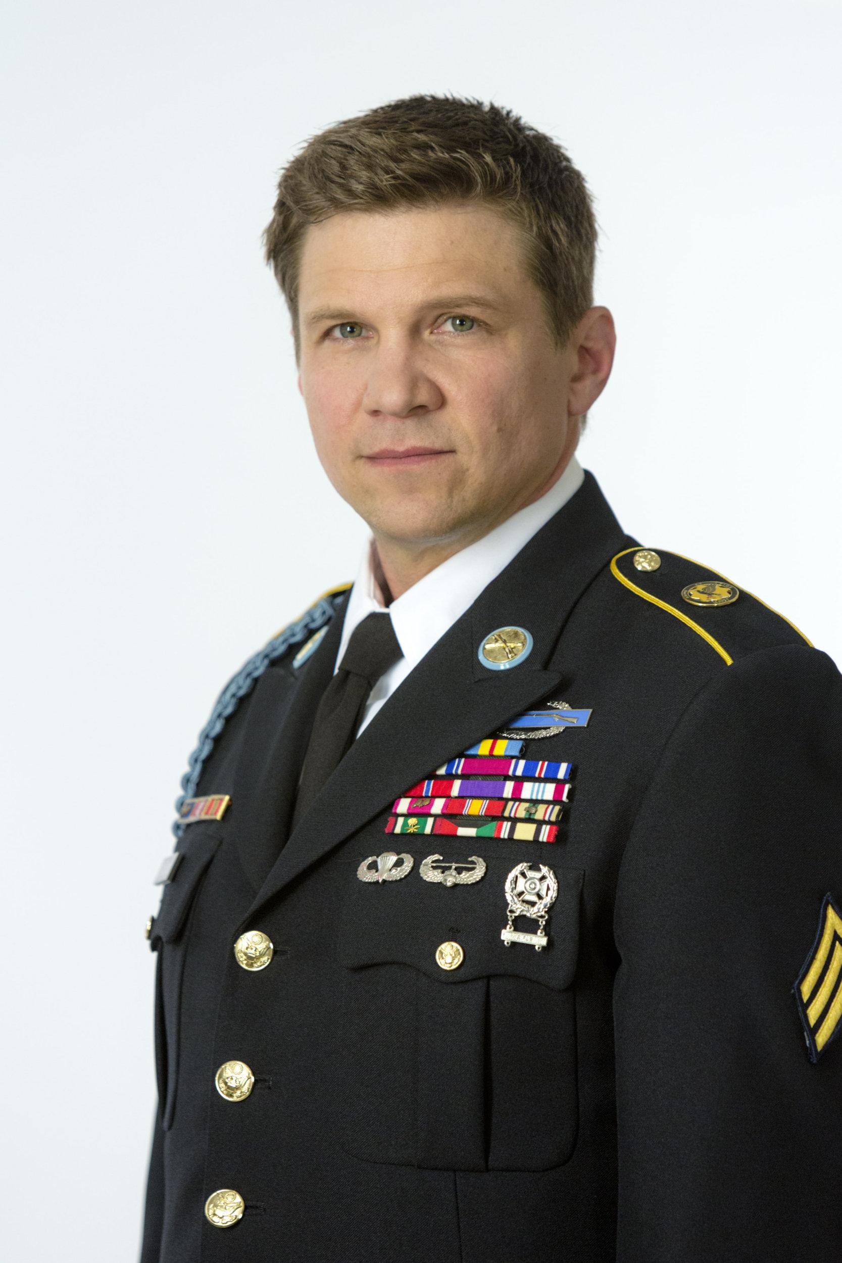 Marc Blucas As Sgt Scott McGuigan On Operation Christmas