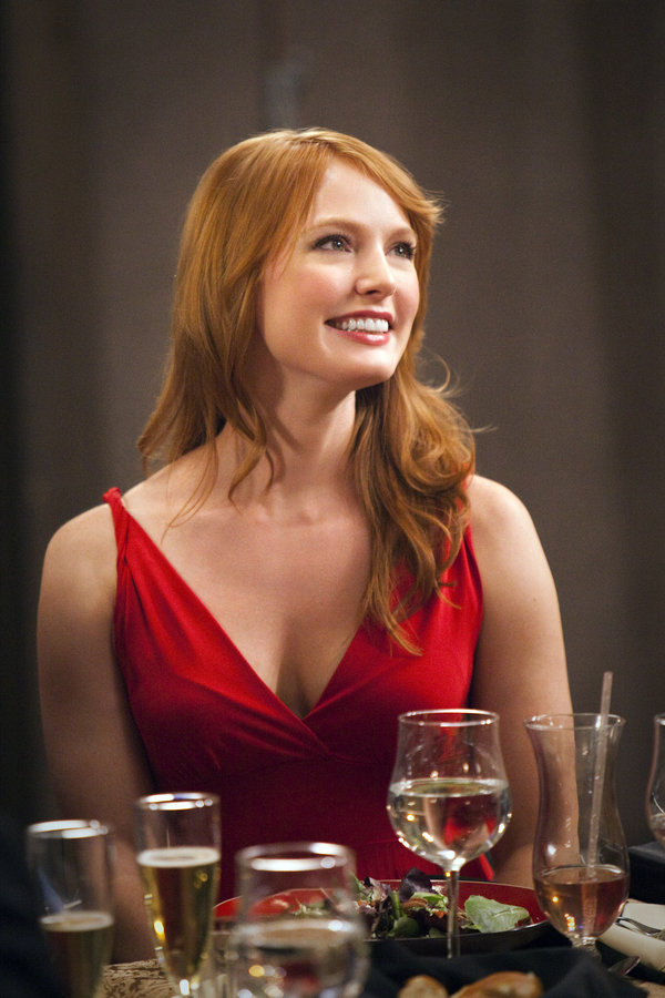 Alicia Witt As Kim Tyler On Backyard Wedding Hallmark