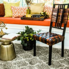 Diy Leather Belt Chair Lawn Fabric Material Home And Family Hallmark Channel
